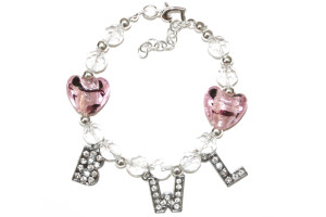 BWL bracelet pink